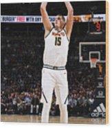 Golden State Warriors V Denver Nuggets Wood Print