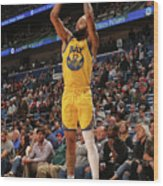 Golden State Warriors V New Orleans Wood Print