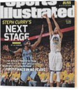 Golden State Warriors Vs Memphis Grizzlies, 2015 Nba Sports Illustrated Cover Wood Print