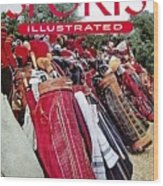Golf Bags, 1954 Masters Tournament Sports Illustrated Cover Wood Print