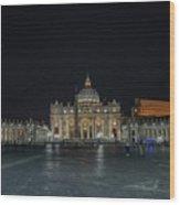 Good Night St. Peter Wood Print