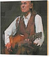 Gordon Lightfoot Wood Print