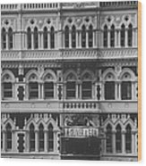 Gothic Architecture Office Building.  P Wood Print