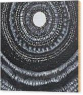 Gothic Waves Original Painting Wood Print