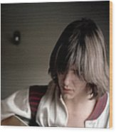 Gram Parsons In Chicago Wood Print