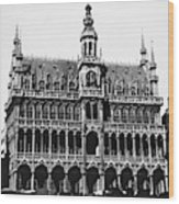 Grand Palace, Brussels Wood Print