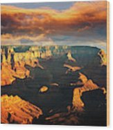 Grandview Point 3 Wood Print
