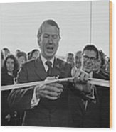 Gravelly Hill Interchange Opening Wood Print