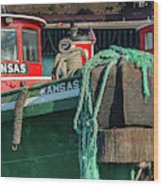 Great Lakes Towing Tug Kansas Wood Print