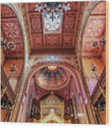 Great Synagogue, Budapest Hungary Wood Print