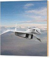 Great White Hope Xb-70 Wood Print