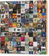 Greatest Rock Albums Of All Time Wood Print