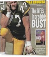 Green Bay Packers Tony Mandarich... Sports Illustrated Cover Wood Print