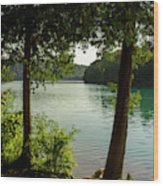 Green Lake, Ny Wood Print