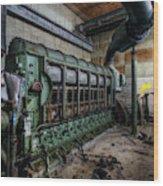 Green Machine Wood Print