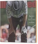 Greg Norman, 1996 Masters Sports Illustrated Cover Wood Print
