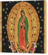 Guadalupe8 Wood Print