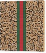 Gucci Leopard Print-1 Wood Print