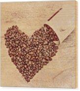 Gushing Wood Print