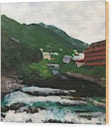 Hakone In Natural Splendor Wood Print