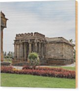 Halebid, Parshvanatha Basadi Wood Print