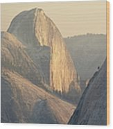 Half Dome At Sunset, Olmsted Point Wood Print