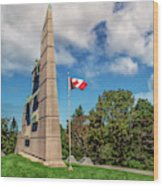 Halifax Explosion Memorial Bell Tower Wood Print