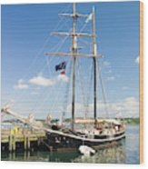 Halifax Harbor And Waterfront Wood Print