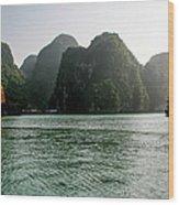 Halong Bay Wood Print
