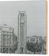 Hamedieh Clock Tower - Beirut Wood Print