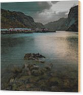 Hamnoy, Lofoten Islands Wood Print
