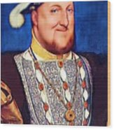 Happy Henry Wood Print