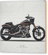 Harley Fxse Wood Print