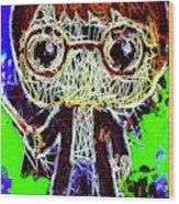 Harry Potter Pop Wood Print