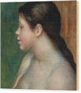 Head Of A Young Girl, 1882 Wood Print