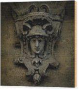 Head Of Mercury Wood Print