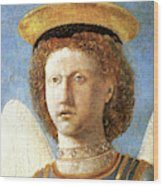 Head Of St. Michael Wood Print