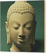 Head Of The Buddha, Sarnath Wood Print