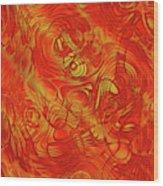 Heatwave Wood Print