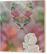 Heavenly Valentine Wood Print