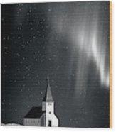 Heaven's Light Wood Print