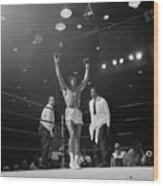 Heavyweight Champion Muhammad Ali Wood Print