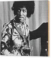 Hendrix Award Wood Print