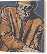 Herbie Hancock Wood Print