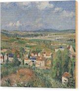 Hermitage In Summer, Pontoise, 1877 Wood Print