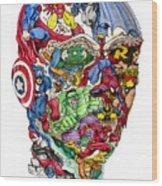 Heroic Mind Wood Print