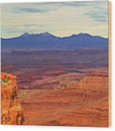 High Desert Wood Print