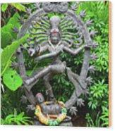 Hindu Statue  Wood Print