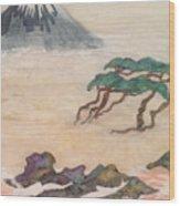 Hoitsu Through The Eyes Of Modernity Turned Backward Wood Print
