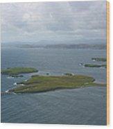 Holm, Stornoway, Isle Of Lewis Wood Print